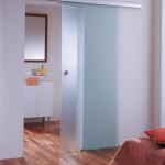 Drzwi szklane przesuwne agile 50