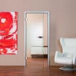 Drzwi szklane mame KERAMIKA Office14