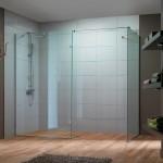 Ścianki szklane w kabinie prysznicowej AS 948