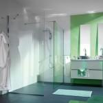 Ścianki szklane w kabinie prysznicowej AS 942