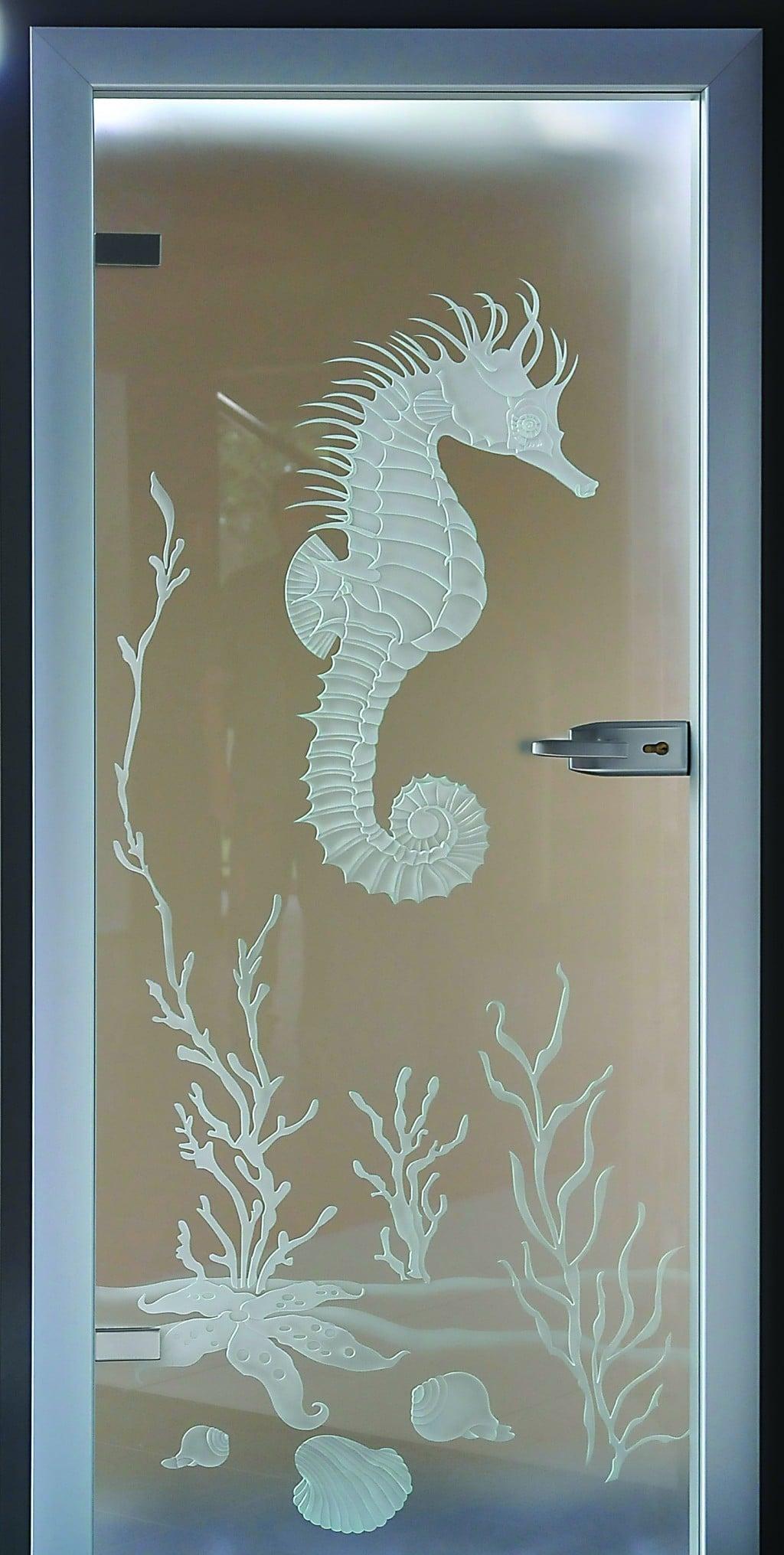 Szkło piaskowane 3D