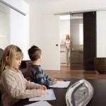 Drzwi szklane przesuwne automatyczne Magneo