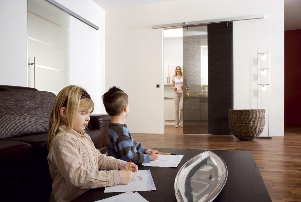 Inteligentny Drzwi Szklane Przesuwne Automatyczne. 100% Dobra Cena • Baumax BS79