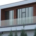 Balustrada szklana zewnętrzna nr 22