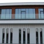 Balustrada szklana zewnętrzna nr 23