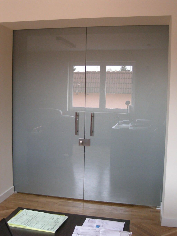 Poważnie Drzwi Szklane Dwuskrzydłowe. Na 100% Dobra Cena • Baumax HW25